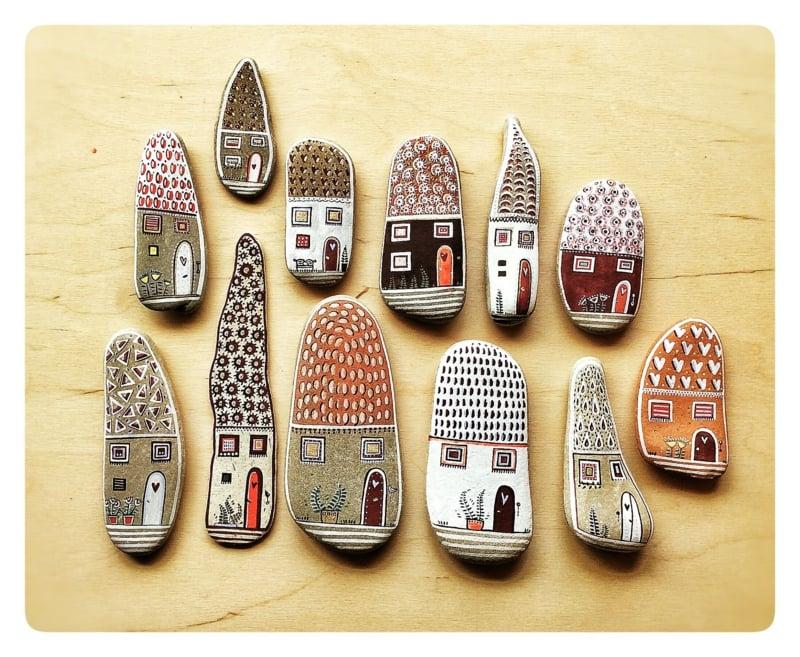 Triff dein neues Hobby: bemalte Steine! - bastelideen, DIY - ZENIDEEN