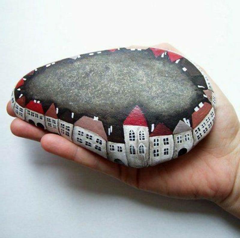triff dein neues hobby bemalte steine bastelideen diy. Black Bedroom Furniture Sets. Home Design Ideas