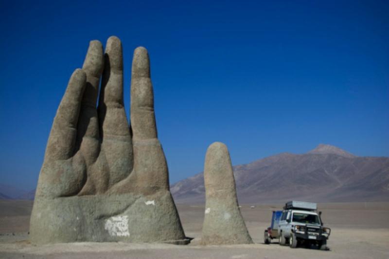 """berühmte-kunstwerke-""""Die riesige Hand"""""""