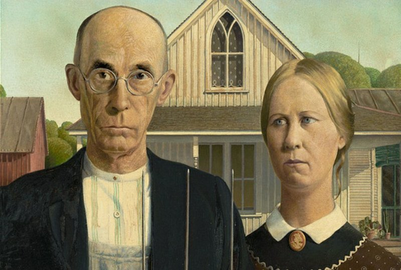 berühmte-kunstwerke-American Gothic