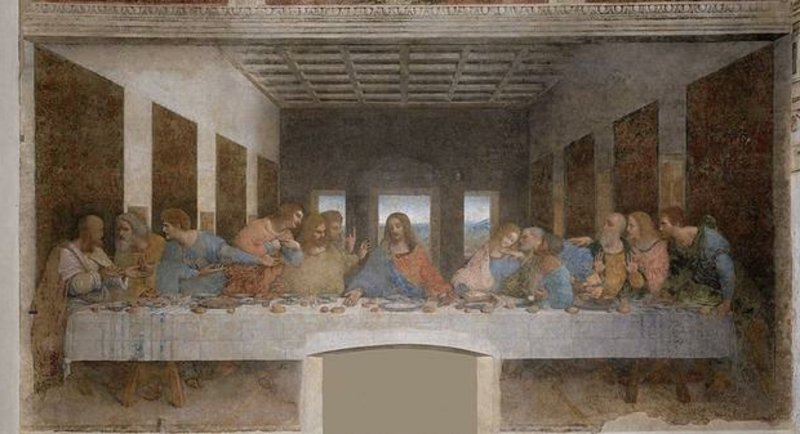berühmte-kunstwerke-The Last Supper
