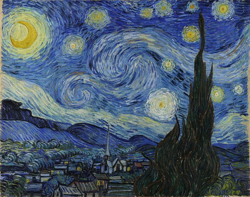 berühmte-kunstwerke-The Starry Night
