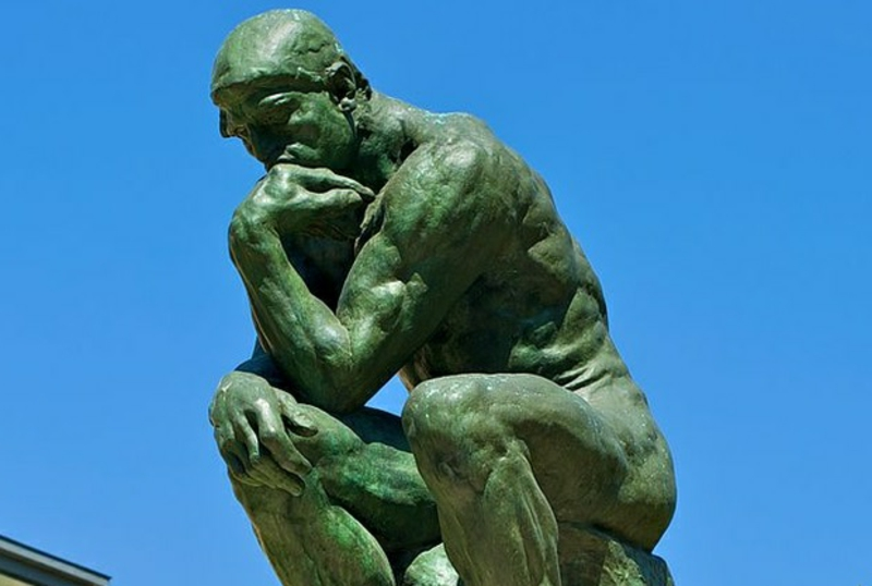 berühmte kunstwerke The Thinker