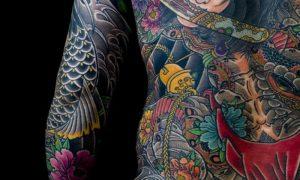 beste-tattoos-Japanese full back tattoo