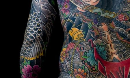 beste-tattoos-Japanese full back tattoo