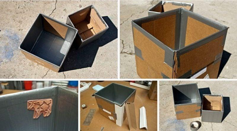 beton pflanzkübel schritte