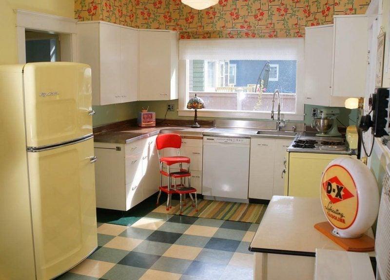 Retro Kühlschrank Beige : Der bosch retro kühlschrank gibt ihrer küche einen charmanten blick