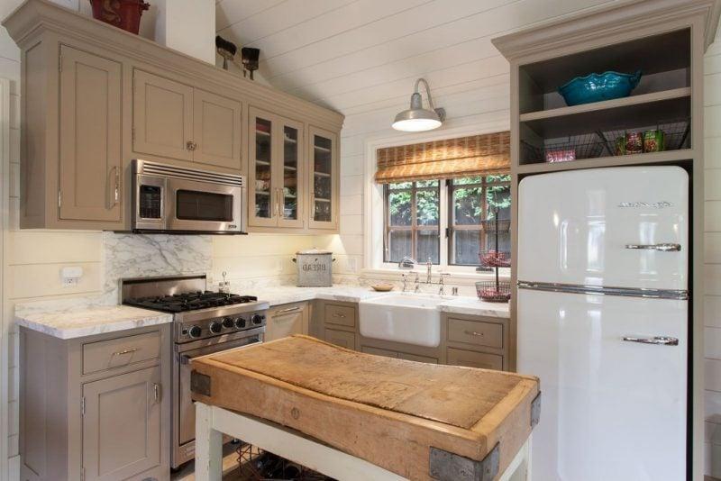 Kühlschrank Vintage : Der Bosch Retro Kühlschrank Gibt Ihrer Küche Einen  Charmanten