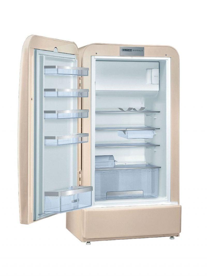 Der Bosch Retro Kühlschrank gibt Ihrer Küche einen charmanten Blick ...