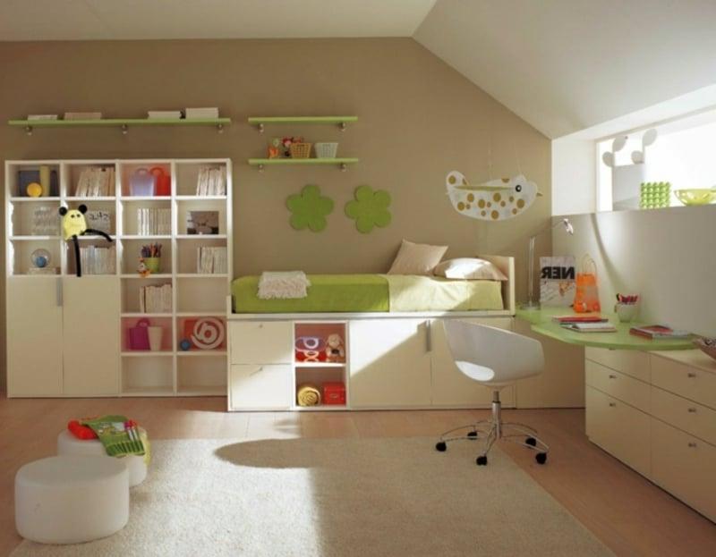 bunte Kinderzimmergestaltung