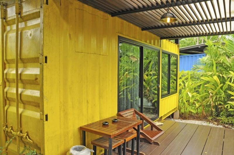 Container Haus Kaufen Gelb