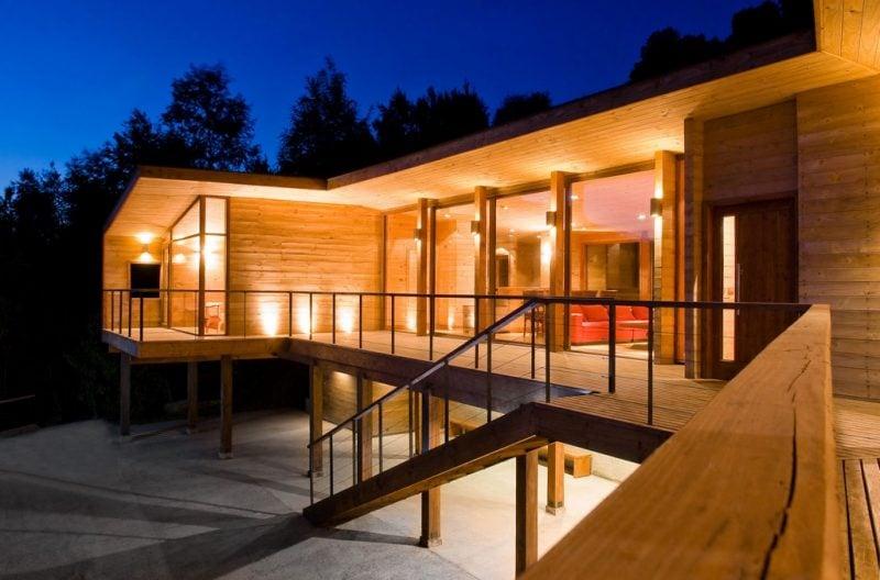 Container Haus Kaufen Beleuchtung