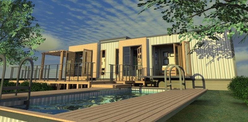 Container Haus Kaufen Modell