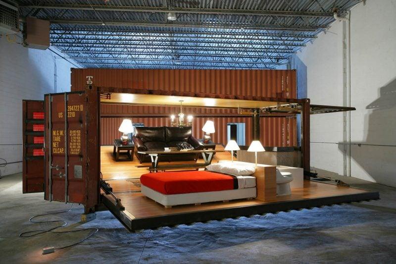 Container Haus Kaufen Wohnzimmer