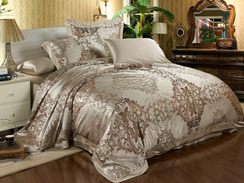 schöne zarte cree farben bei der luxus bettwäsche