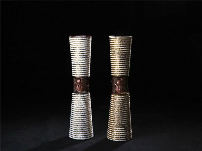 identische vasen für tischdekorationen