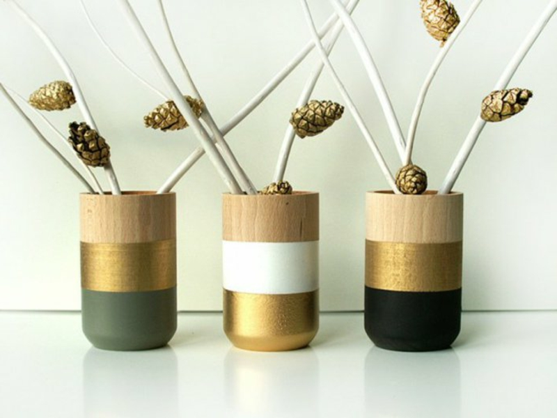 50 beispiele f r tischdekorationen mit vasen und schalen. Black Bedroom Furniture Sets. Home Design Ideas