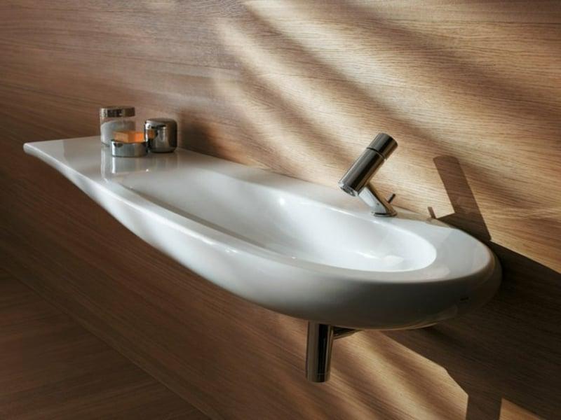 schönes ovales waschbecken