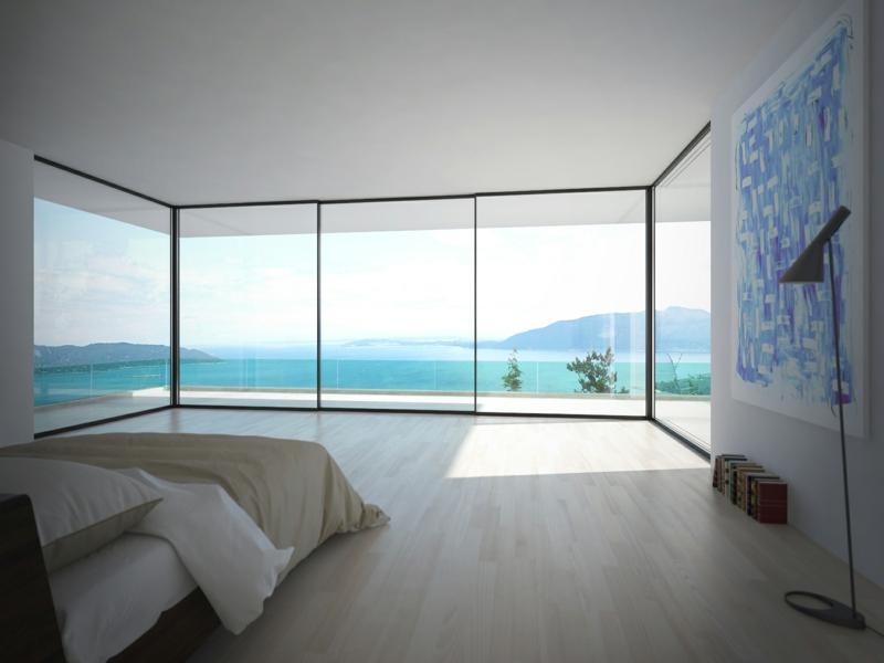 wunderschöne eckfenstergestaltung