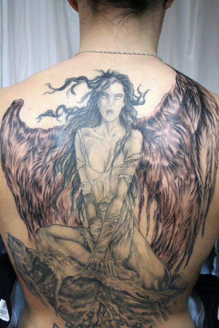 Engel Tattoos Fluegel