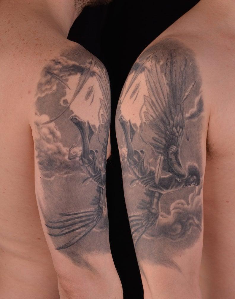 Engel Tattoos Hand