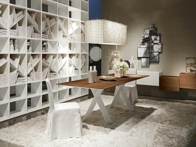 weiße quadratische lampe