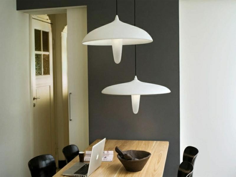 originelle idee für esszimmerlampen