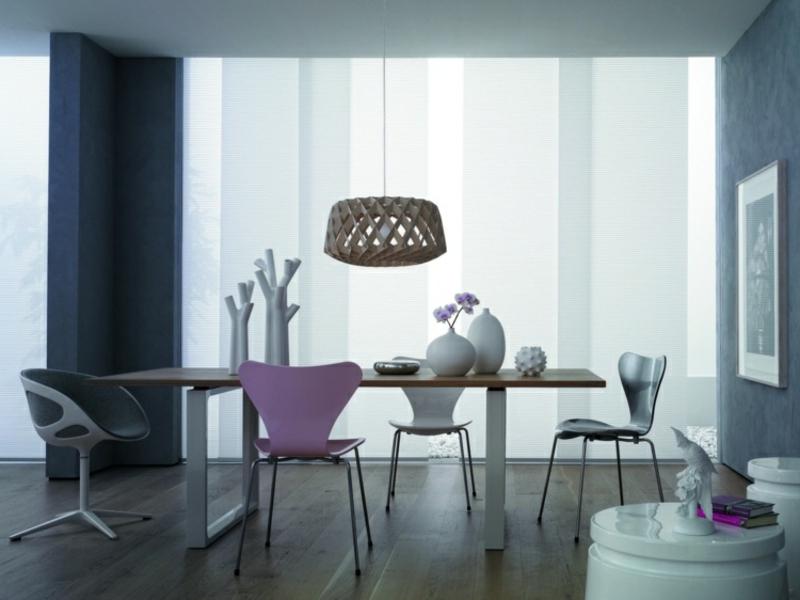 designer auffällige esszimmerlampe