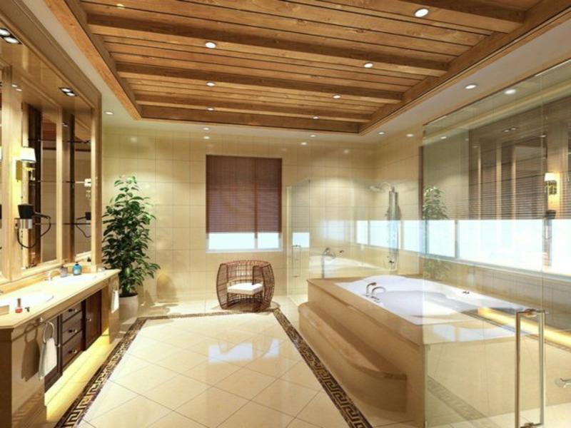 moderne fantastische beleuchtung im badezimmer