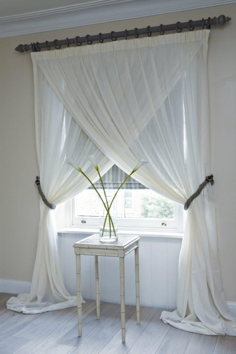 gardinen n hen kreative ideen f r anf nger. Black Bedroom Furniture Sets. Home Design Ideas