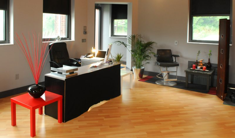 feng shui farben in arbeitszimmer