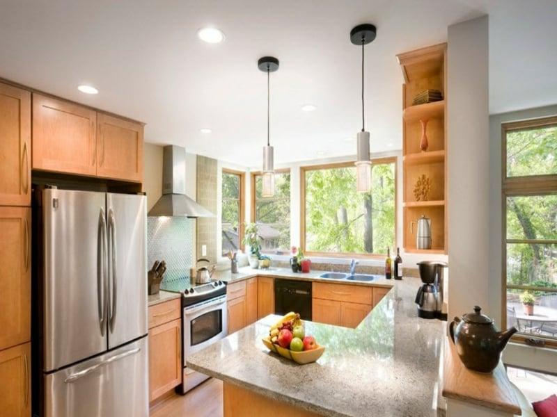 eckfenster kche holzverkleidung innen weiss innenraum und m bel gardinen wohnzimmer creme. Black Bedroom Furniture Sets. Home Design Ideas