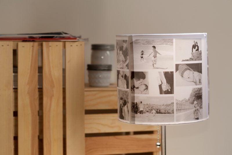 deko mit erinnerungen 11 ideen mit denen sie fotocollage. Black Bedroom Furniture Sets. Home Design Ideas