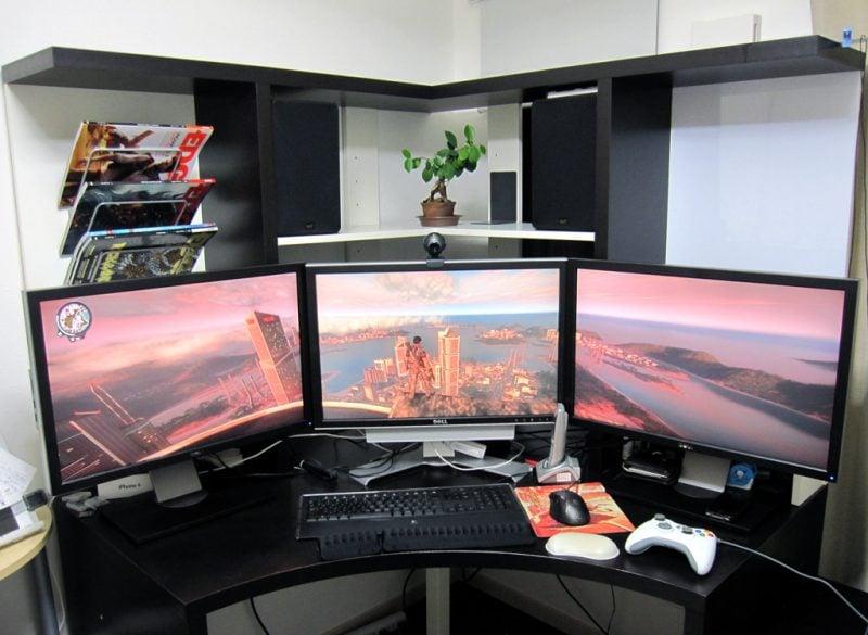 Gaming Schreibtisch Ergonomie