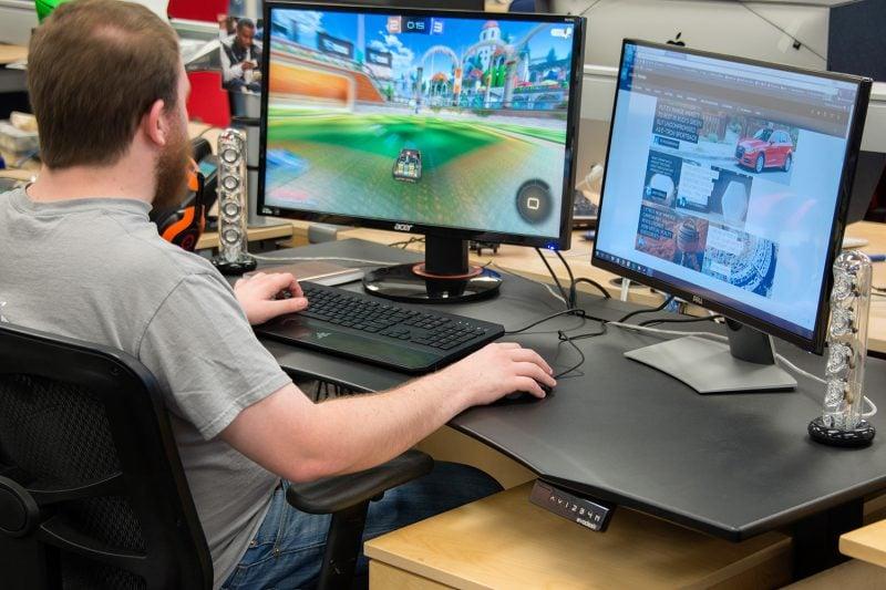 gaming-paradies  17 ideen f u00fcr gaming schreibtisch - innendesign  m u00f6bel