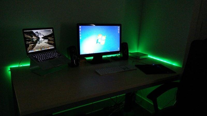 Gaming Paradies 17 Ideen F 252 R Gaming Schreibtisch