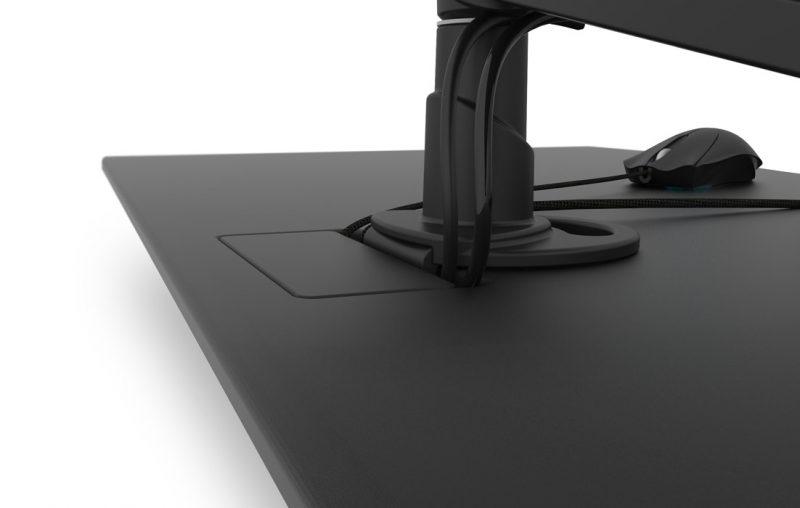 Gaming Schreibtisch Kabelmanagement