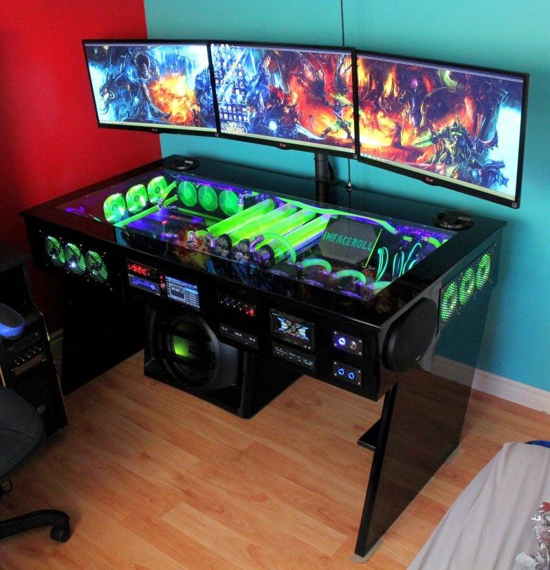 Gaming Schreibtisch Kreativ