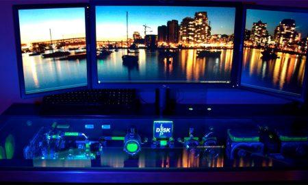 Ideen für Gaming Schreibtisch