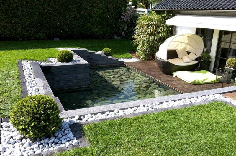 Gartenteich ideen die besten einrichtungsideen und for Gartenteich eckig anlegen