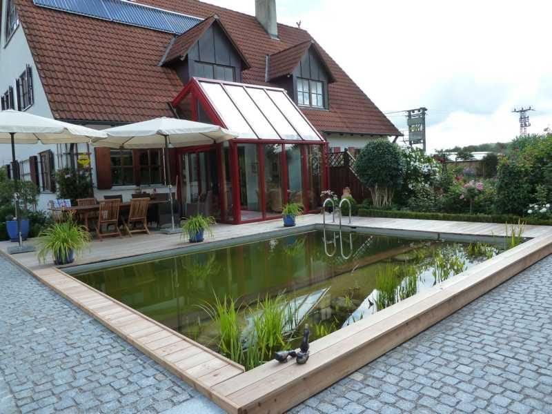 Gartenteich Bilder Schwimmbad