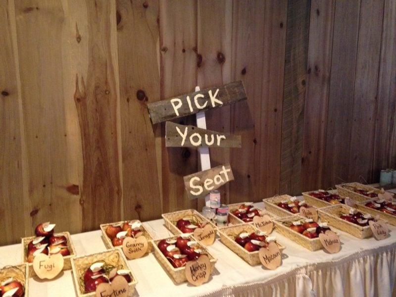 Give Aways Hochzeit Platz Ideen