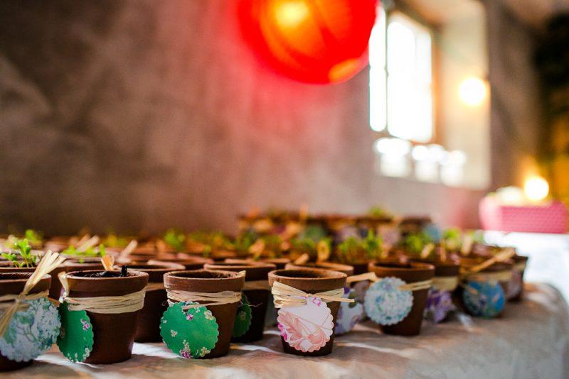 Give Aways Hochzeit Blumensamen