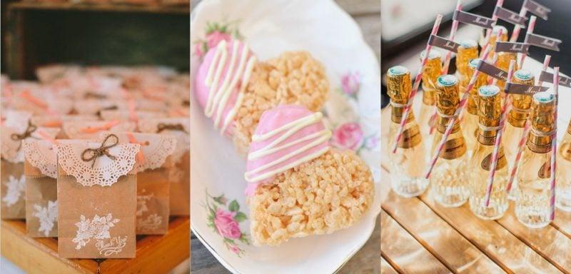 Give Aways Hochzeit Candy Ideen