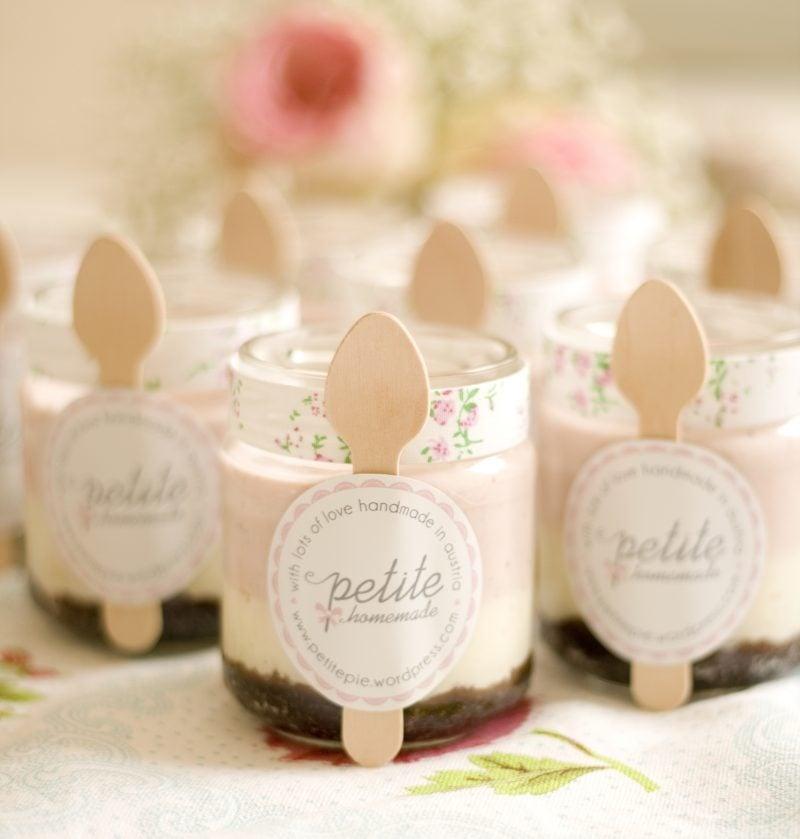 Give Aways Hochzeit Marmelade