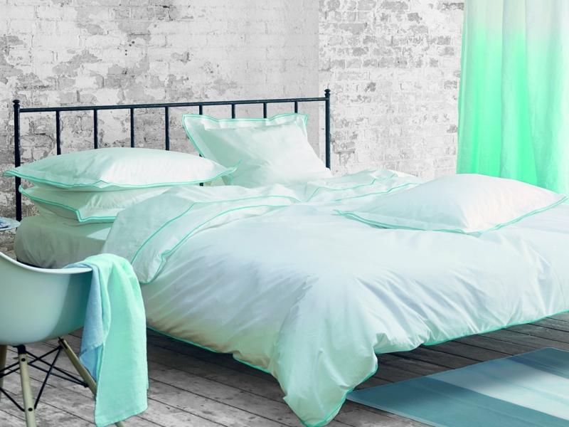 designer grünliche luxus bettwäsche