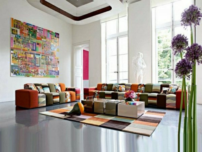 farbe wohnzimmer feng shui inspiration