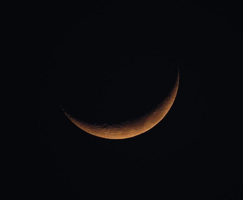 Haarschneiden nach dem Mond Neumond