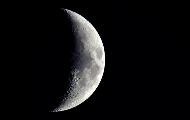 Haarschneiden nach dem Mond Zunehmender Mond