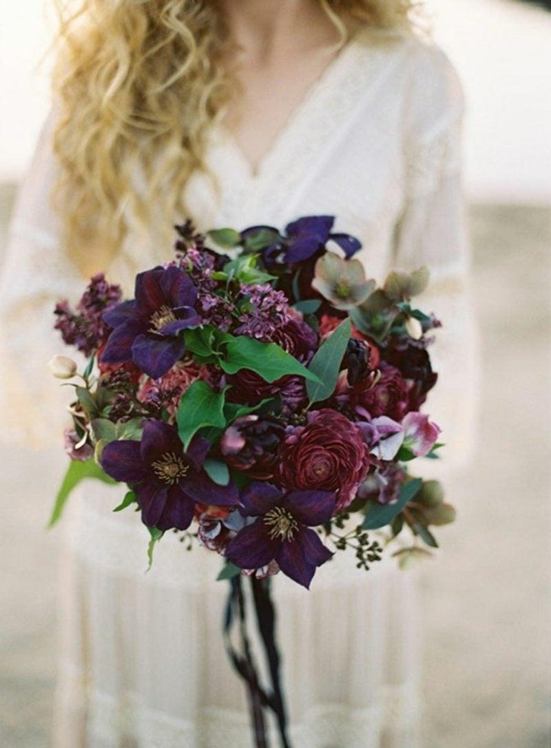 Brautstrauß Herbstblumen